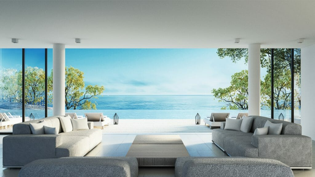 Home with ocean view