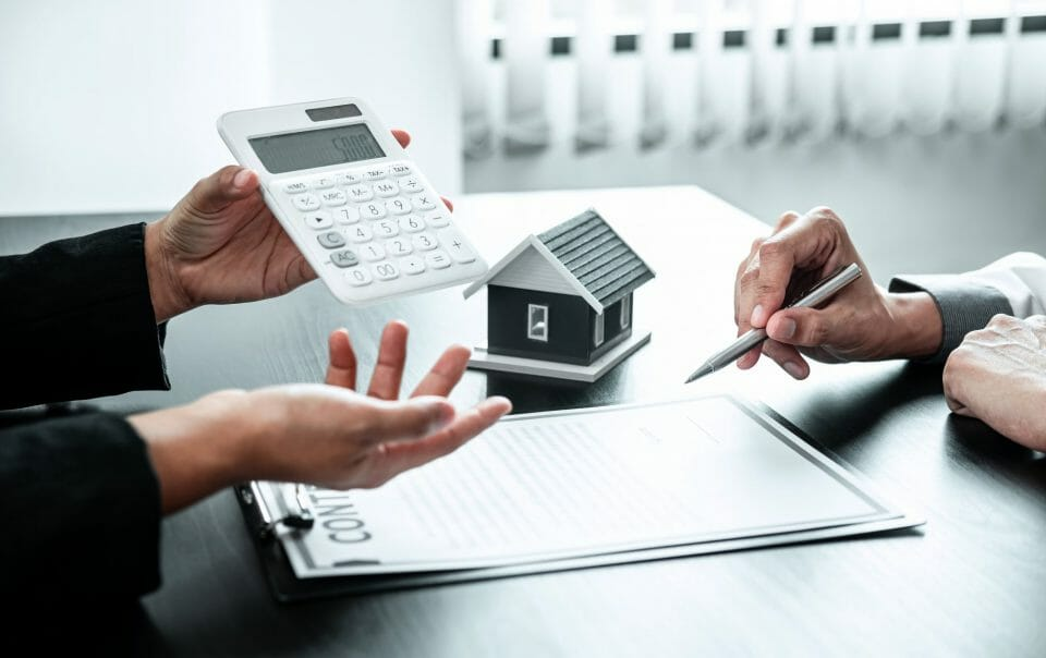 calculator and contract